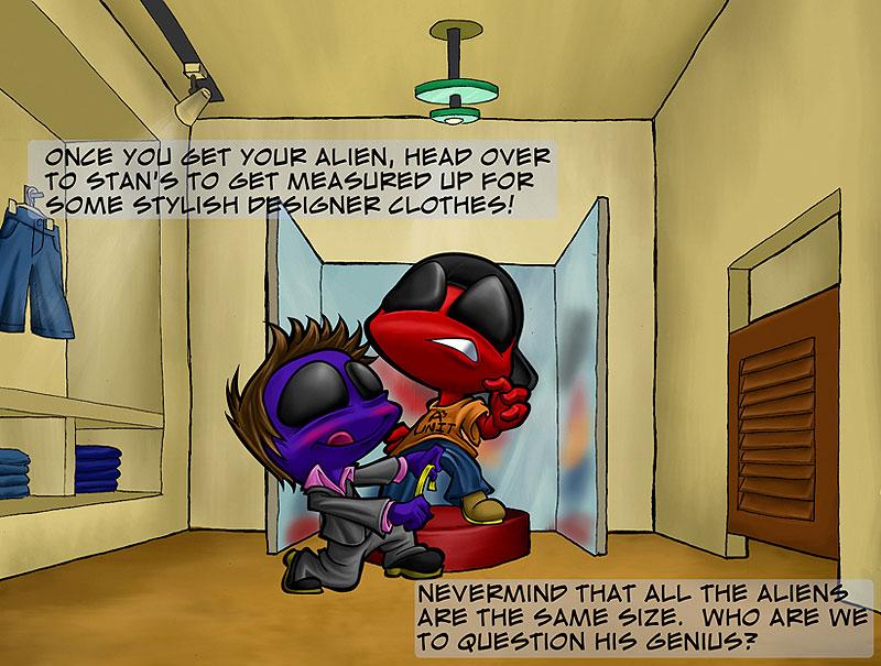A3: Alien Adoption Agency